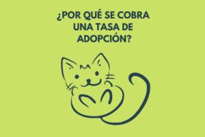por que se cobra una tasa de adopcion