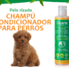 Natural conditioner shampoo for curly-haired dogs