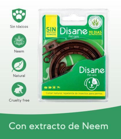 Collar antiparasitario natural para perros