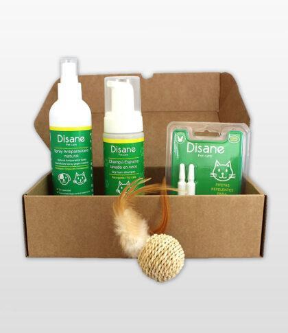 Caja regalo para gatos de productos naturales para gatos